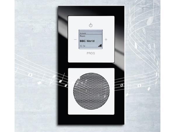 Une radio Internet encastrable pour la salle de bains - ON mag