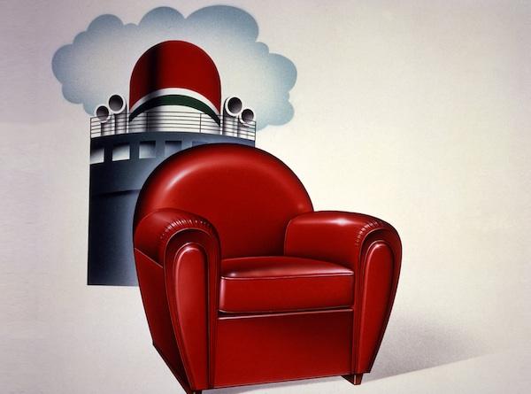 Les enceintes Architettura Sonora et le fauteuil Archibald Neige ...