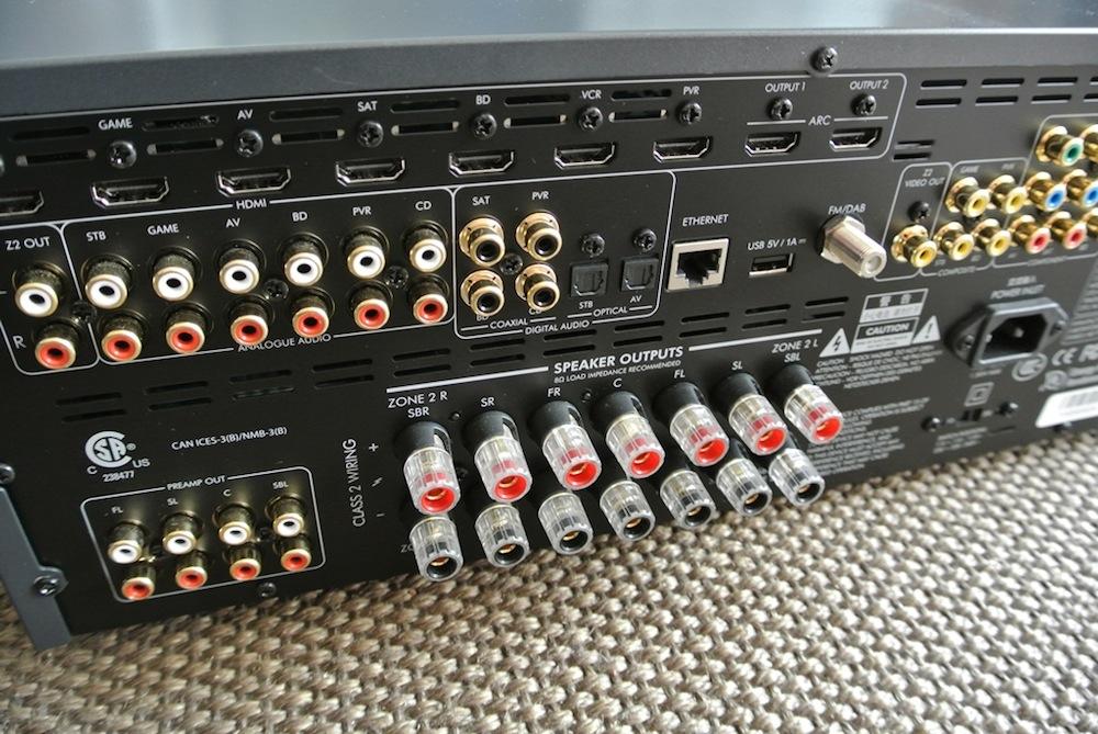 Arcam AVR380, 450 et 750 des amplis Home Cinéma qui n