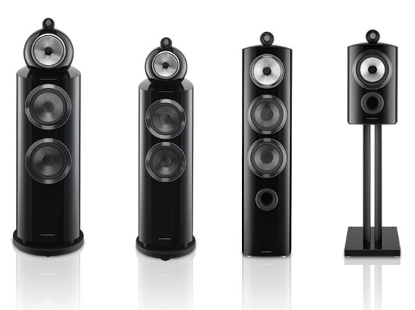 Bowers Wilkins 800 D3 gamme