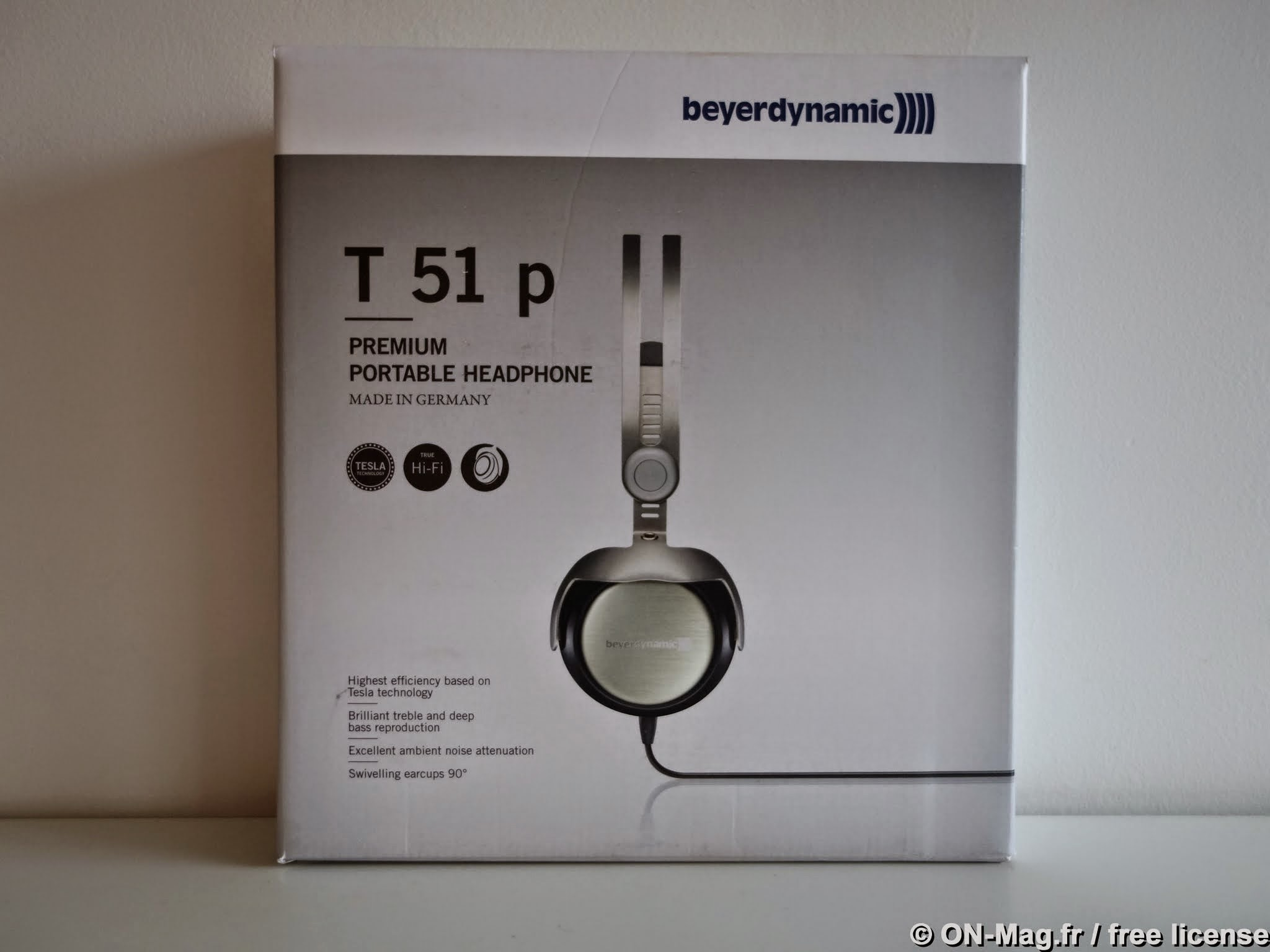 test beyerdynamic t51p un casque audiophile nomade de tr s belle facture on mag. Black Bedroom Furniture Sets. Home Design Ideas