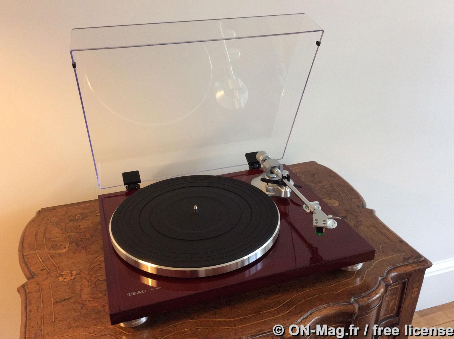 test platine vinyle teac tn 300 une bonne introduction au monde du disque analogique on mag. Black Bedroom Furniture Sets. Home Design Ideas