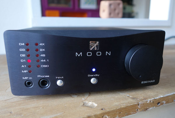 Moon by SimAudio Neo 230HAD test On mag
