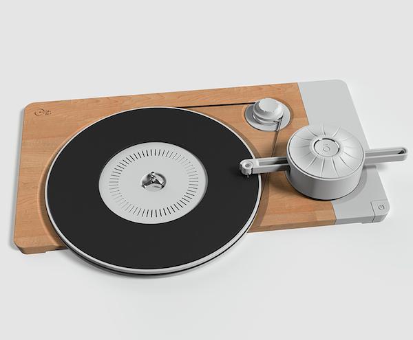 stript and turnt concept de platine vinyle frais original avec la touche vintage et. Black Bedroom Furniture Sets. Home Design Ideas