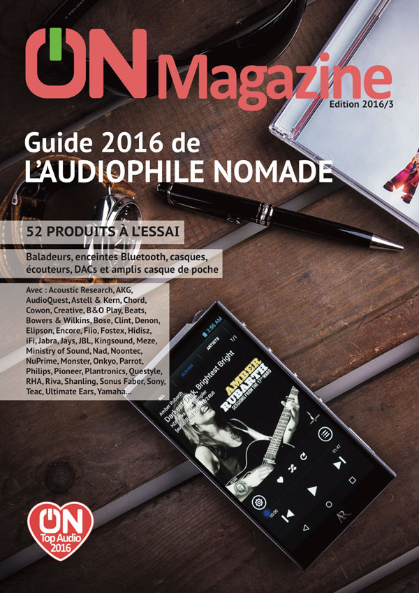 couverture Guide audiophile nomade 2016