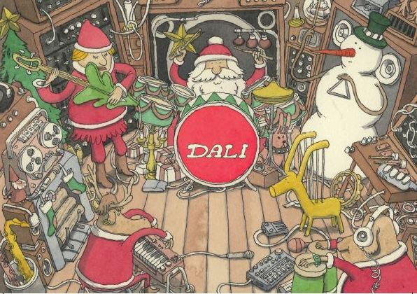 Dali Musical Seasons Greetings 2017