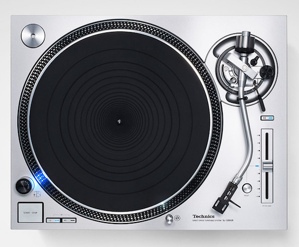 Technics direct drive turntable system sl 1200gr 7