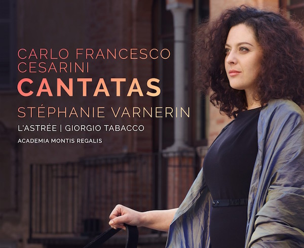 Cesarini Cantatas CD cover Stephanie Varnerin