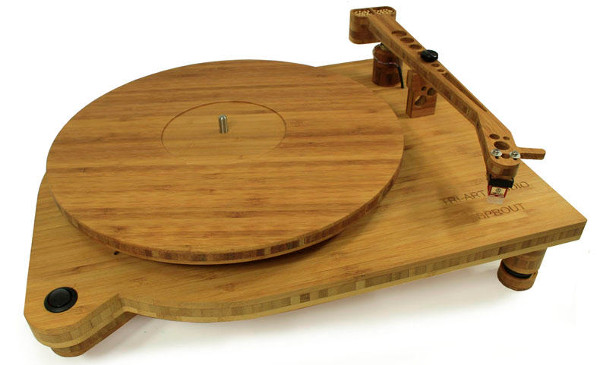 sprout bamboo turntable