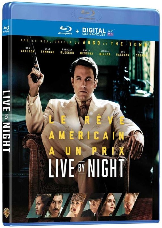 Blu ray Live by Night