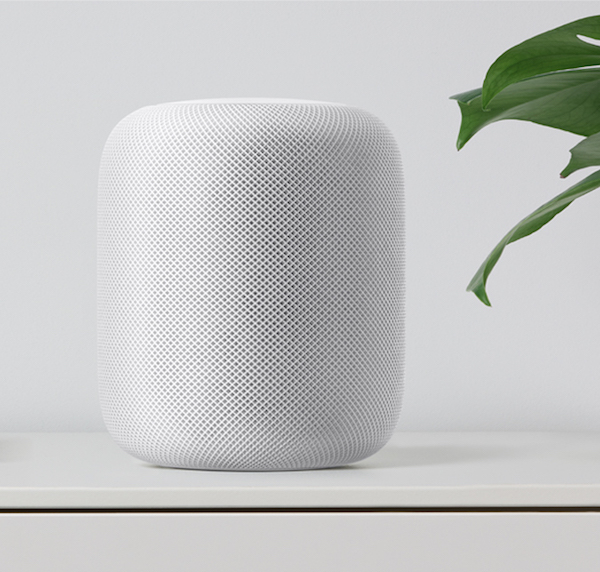 Apple homepod white shelf 1