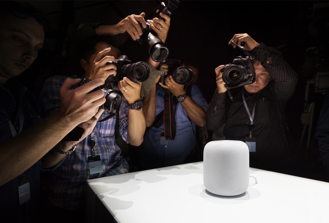 Homepod Apple photographes WWCD17