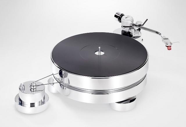 Test platine vinyle transrotor max tout d 39 aluminium poli - Aluminium poli miroir ...