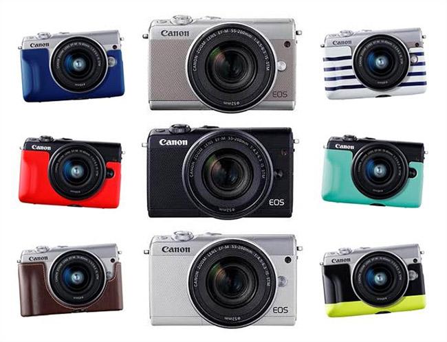 canon eos m100 un appareil photo hybride miniature et ludique qui a tout d un grand on mag. Black Bedroom Furniture Sets. Home Design Ideas