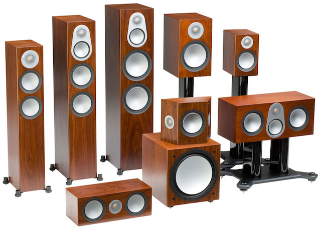 Monitor Audio Silver 6G Group Walnut Square