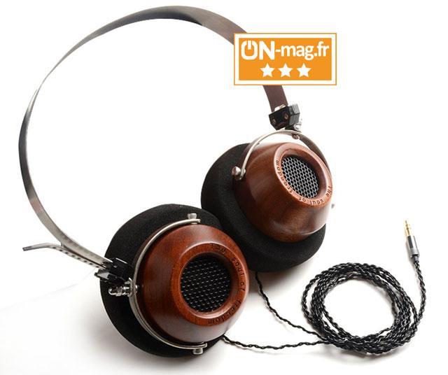 Test casque Hifi OKCSC M1 : style vintage,