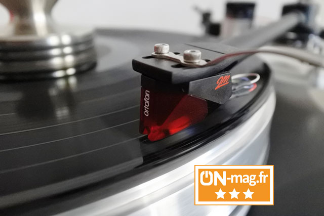 Ortofon 2M Red test ON mag