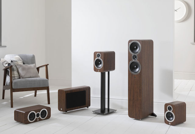 Q Acoustics 3000i Range Walnut 640