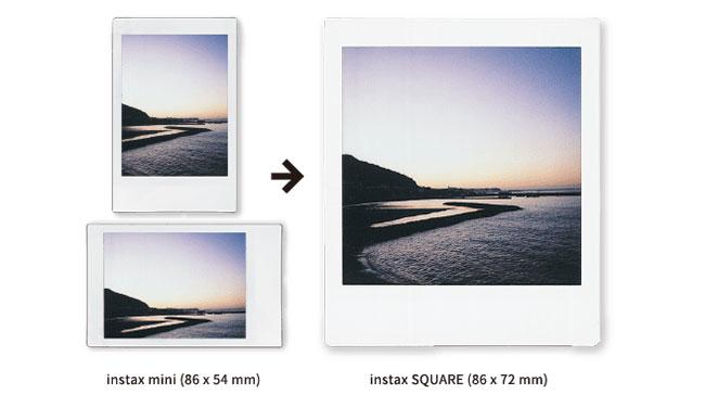 Fujifilm Instax Square Sq6 L Autre Appareil Photo Instantane Analogique Au Format Carre Comme Polaroid