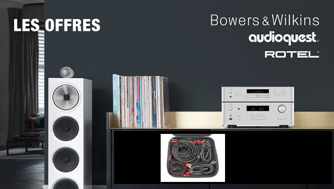 Offres BW Rotel Audioquest