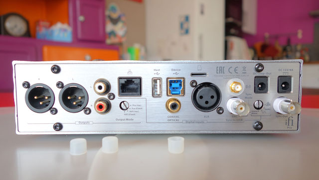 iFi Audio PRo iDSD connectique