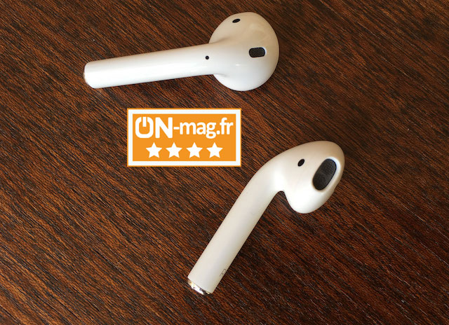 Apple AirPods test ONmagFr