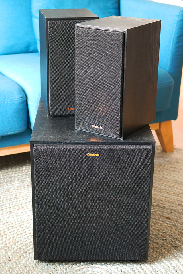 klipsch R 41PM R 100SW ensemble
