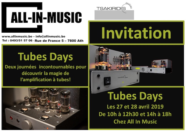 All in Music Tubes Days Tassirikis