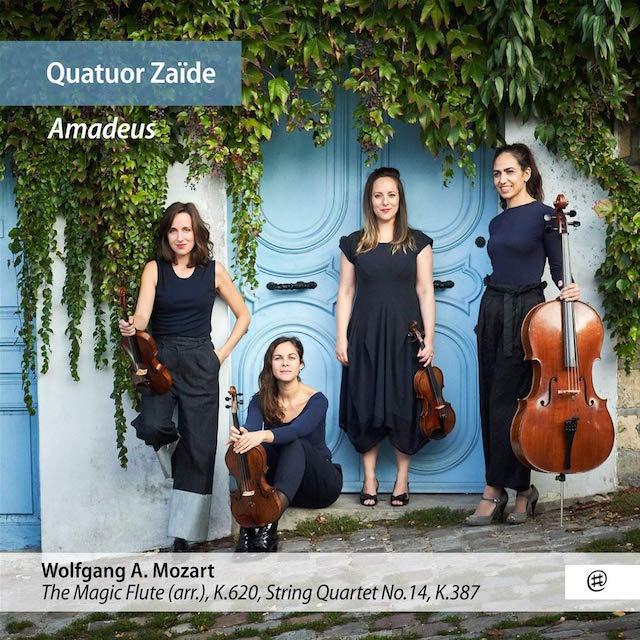 Transcription anonyme de la Flûte par le quatuor Zaide. Quatuor_Zaide_Amadeus