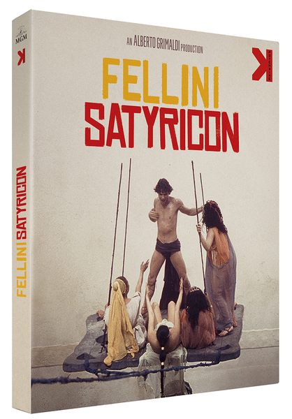 Blu ray Fellini Satyricon