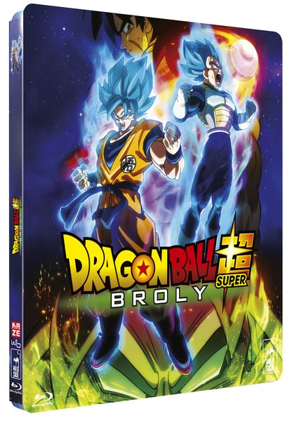 Blu ray Dragon Ball Super Broly