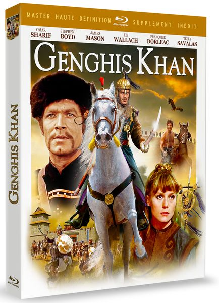 Blu ray Gengis Khan