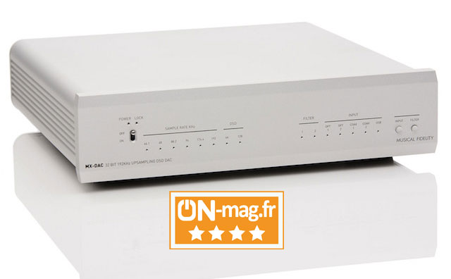 Musical Fidelity MX DAC test ONmagFR
