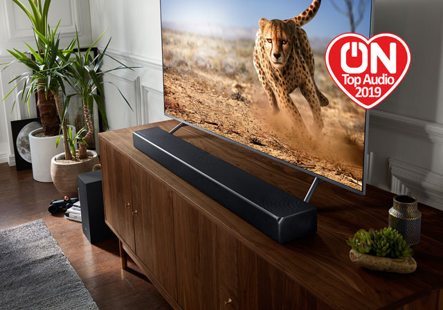 Test barre de son Samsung HW-Q90R : du très gros son mais sans encombrer son salon