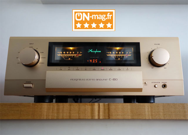 Accuphase E480 test ONmagFr 1