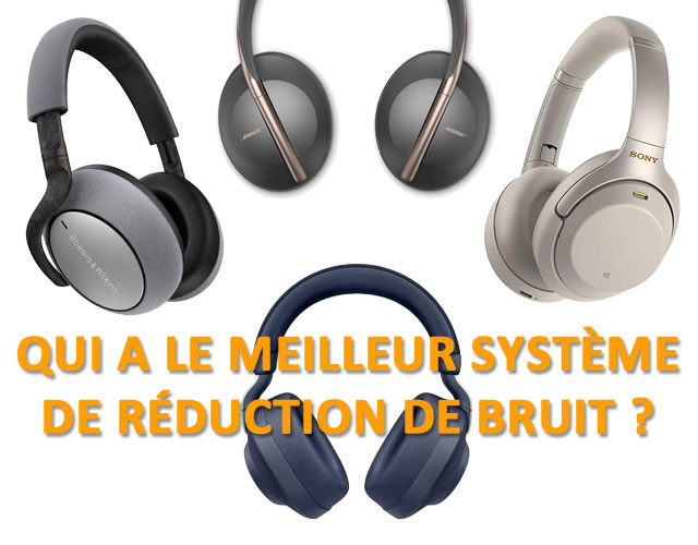 Compartaif systeme antibruit casques audio