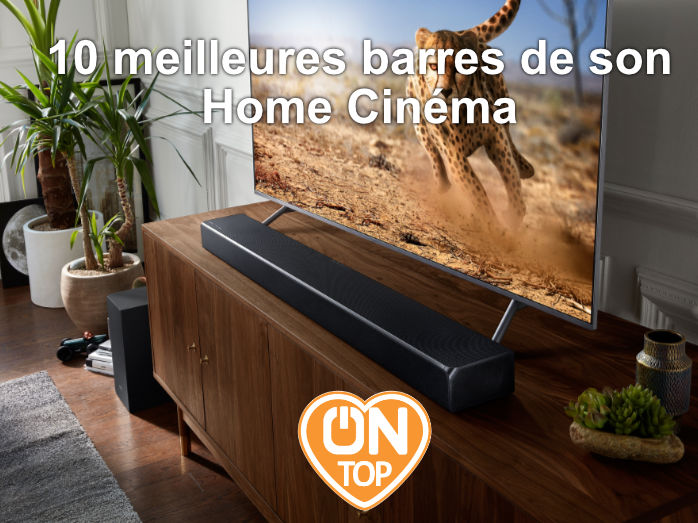 10 meilleures barres de son home cinema