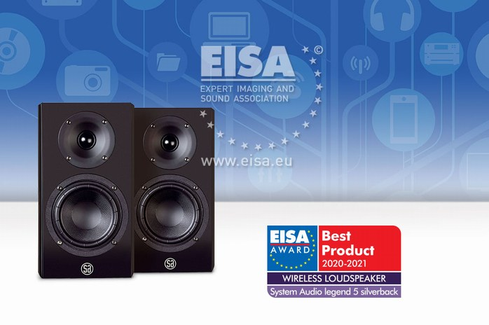 System Audio Legend 5 Silverback eisa