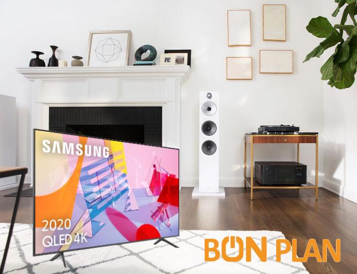 Bon plan enceintes B&W603 à -42% et TV QLED SamsungQE43Q60T pour à peine plus de 500€