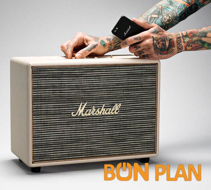 Bon plan Marshall Woburn : la grosse enceinte Rock'n Roll jusqu'à plus de moitié prix