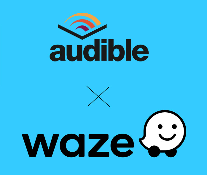 audible sous waze