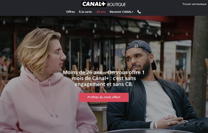 Canal+ offre un mois d'abonnement gratuit aux étudiants de moins de 26 ans