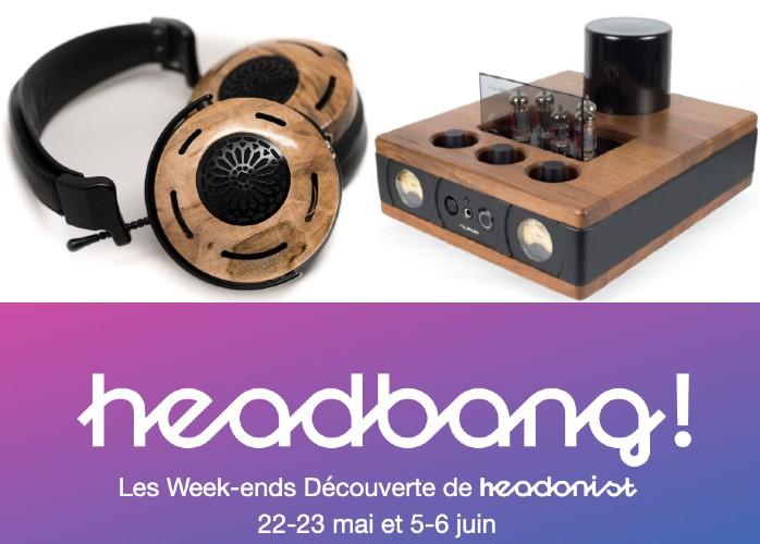 Headonist programme des week-ends découverte dédiés à l'écoute au casque, à l'hôtel Chouette à Paris