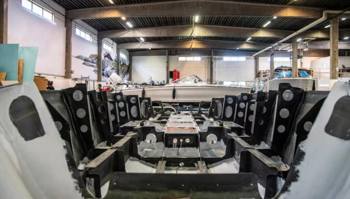 Candela C7 electric boat flywheel factory