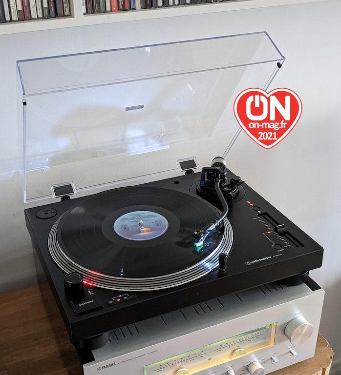 Test Audio-technica AT-LP120XUSB : la refonte d'une platine vinyle façon DJ iconique, encore plus abordable