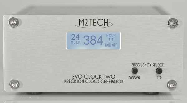 M2Tech Evo Clock Two face