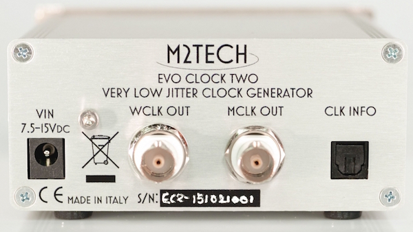 M2Tech Evo Clock Two rear