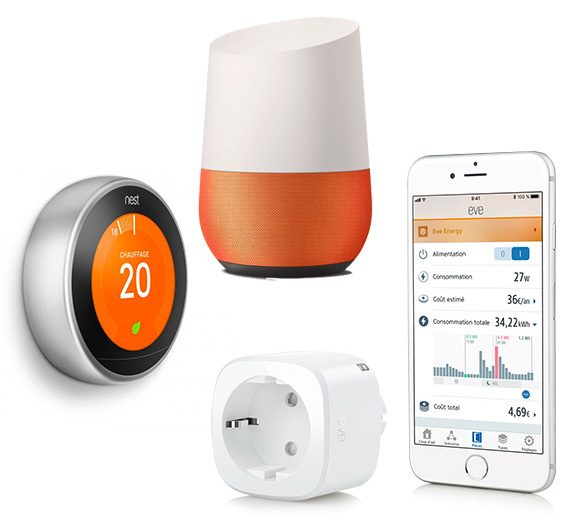 Smart Home, domotique, objets connectés